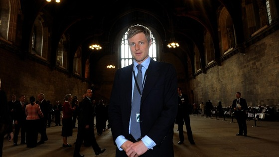 Conservative MP Zac Goldsmith poses for a photograph in Westminster Hall, Palace of Westminster, London.