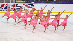 The British synchronised skating championships will take place this weekend