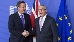 Juncker said a deal was near