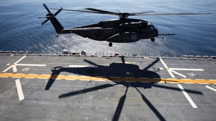 CH-53 helicopter seen in this file image