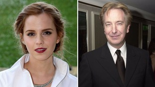 Emma Watson receives vicious Twitter messages over Alan Rickman tribute