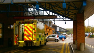 Doctors warn of busy A&E departments as icy weather causes slips and falls