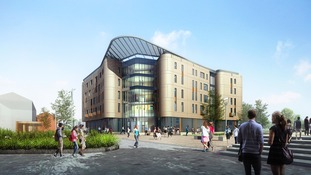 The new £25 million pound Allam Medical Building