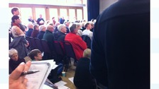 Packed meeting over Hebden Bridge flood recovery plan