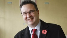 Huw Lewis has announced he will not re-seek election in May