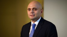 Business Secretary Sajid Javid