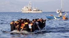 Overcrowded raft