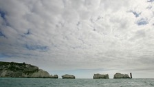 General view of the Needles rocks