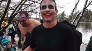 'The Joker' raising cash for local flood relief effort