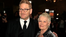 Sir Kenneth Branagh with Dame Judi Dench