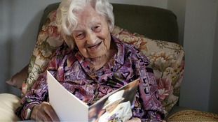 Britain's oldest person celebrates 113th birthday