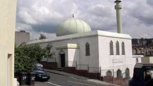 A 34-year-old man has been arrested in connection with a hate crime at a mosque in Bristol