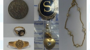 Do you recognise any of this jewellery?
