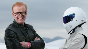 Chris Evans and The Stig are busy filming the new Top Gear series