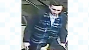 Police would like to speak to the man pictured in connection with an assault