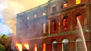 Fire damaged mansion to be restored by National Trust