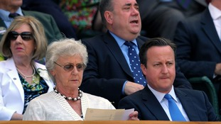 David Cameron, seen in the royal box at Wimbledon, said claims of match-fixing in tennis hurt the sport's supporters the most.