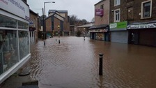 Flood hit Lancaster