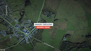 Emergency services were called to the incident in Oakery Crescent this morning.