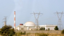 Iranian nuclear reactor