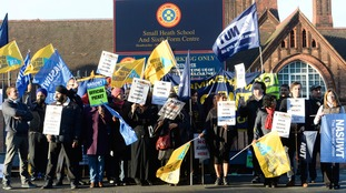 Teachers have already staged five days of strikes since last May amid fears it will be turned into an academy.