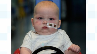 Mother appeals for blood donations as baby boy battles cancer