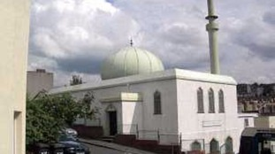 Attacked mosque