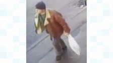 If you recognise this man, contact police