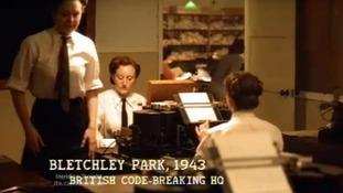 Bletchley Park scene