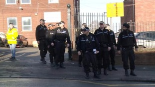 Hundreds of pupils were evacuated from schools in Oldbury and Halesowen