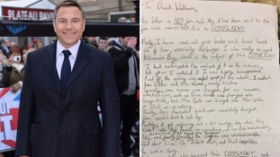 David Walliams shares hilarious complaint letter from 11-year-old boy on BBC adaptation of Billionaire Boy