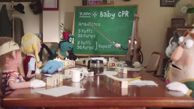 Baby cpr st john ambulance release video showing how to perform in the video popular nursery rhyme characters work out how to rhyme ambulance credit st john ambulanceyoutube ccuart Image collections
