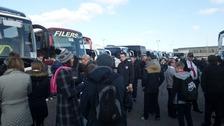 Fans leave Exeter