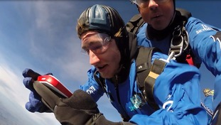 Skydiver successfully catches Pokemon at 15,000ft