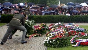 Survivors of village massacre visit Stoke-on-Trent