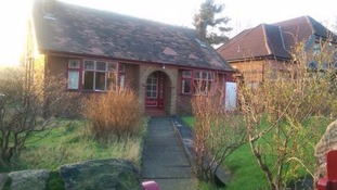 The house in Hollingworth where Eric Woodward was found