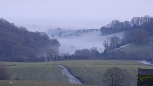 Fog in the Severn Valley