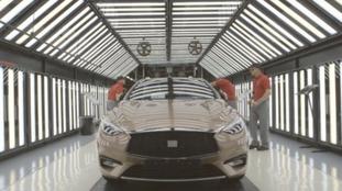 New Nissan Infiniti
