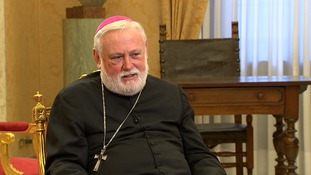Archbishop Paul Gallagher said that it would make the UK stronger to stay in Europe.