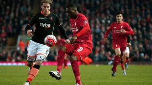 Exeter City overwhelmed by excellent Liverpool despite brave performance
