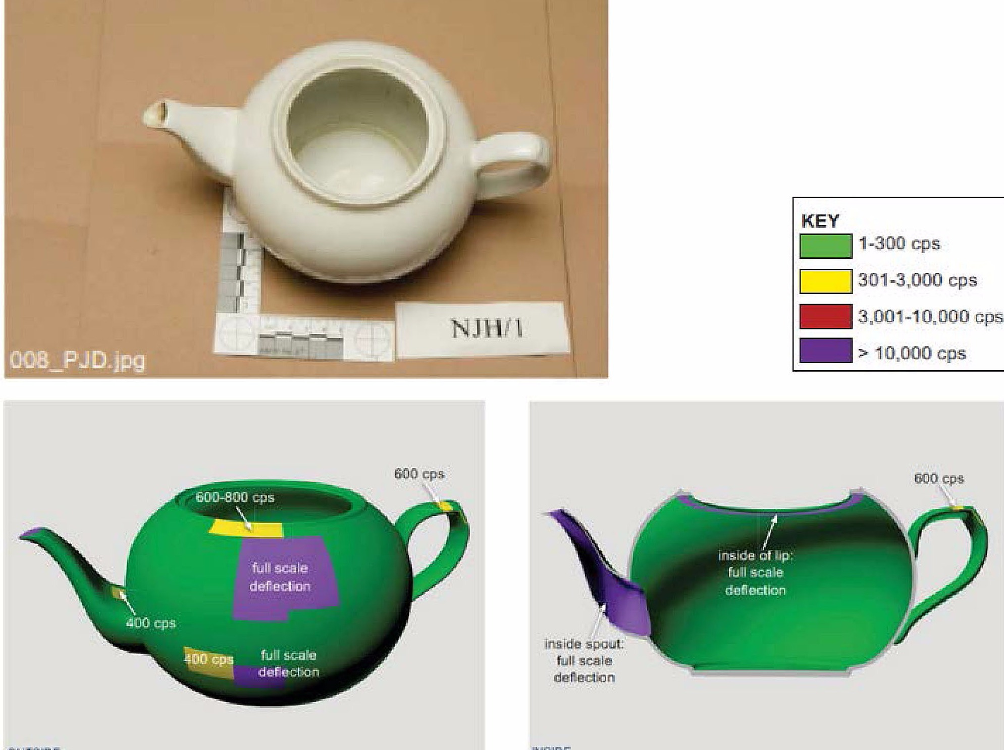Images released of teapot used to poison Litvinenko