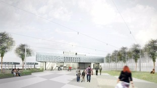 Plans for the new Cambridge North station