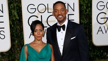 Actors Jada Pinkett-Smith and Will Smith