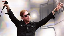 Ricky Wilson, the band's lead singer.