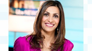 Sameena Ali-Khan is one of the main presenters of ITV News Central