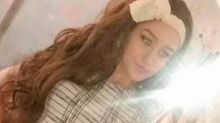 Caitlin Ruddy takes a selfie