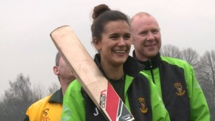 Cricket's leading lady: 'When I rock up on a Saturday I'm one of the boys'