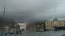 Friday morning's rain in Skipton