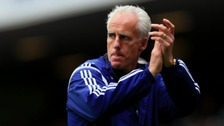 Mick McCarthy is staying at Ipswich Town.