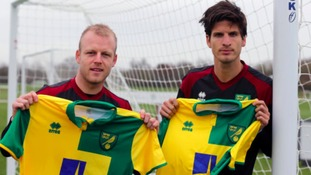 Norwich City new boys Naismith and Klose ready to spearhead survival bid